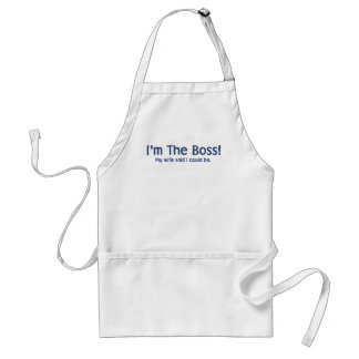 I'm the Boss My Wife Said So Standard Apron