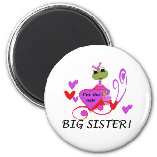 I'm The New Big Sister 6 Cm Round Magnet