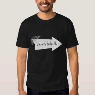 I'm with Bridezilla Fiance Shirt