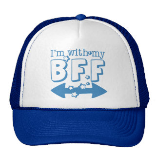 I'm with My BFF (double arrow) Cap