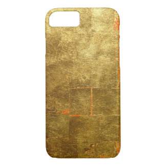 Image of Gold Leaf Surface, Unfinished iPhone 7 Case