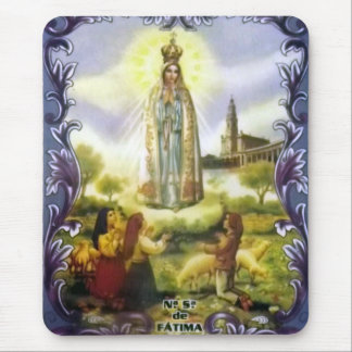 Image of the apparition Our Lady of Fatima Mouse Pad