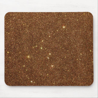 Image of trendy copper Glitter Mouse Pad