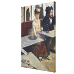 In a Cafe, or The Absinthe, c.1875-76 Gallery Wrap Canvas