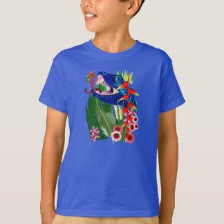 In A Deep Jungle-Snakes Tee Shirt