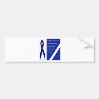 In Acknowledgement In Remembrance In Celebration I Bumper Sticker