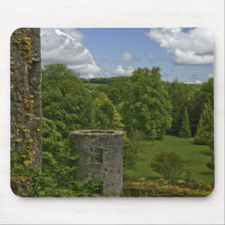 In Ireland, at Blarney Castle a stone tower in Mouse Pad