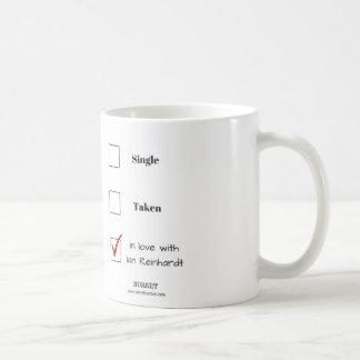 In Love with Ian Reinhardt Basic White Mug