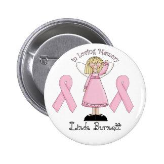 In Loving Memory 6 Cm Round Badge