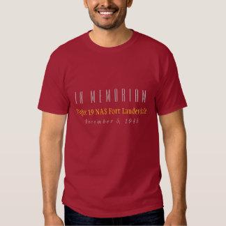 In Memoriam Flight 19 T-shirts