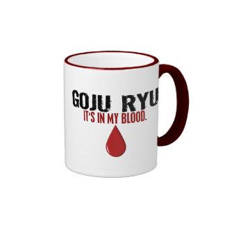 In My Blood GOJU RYU Ringer Mug
