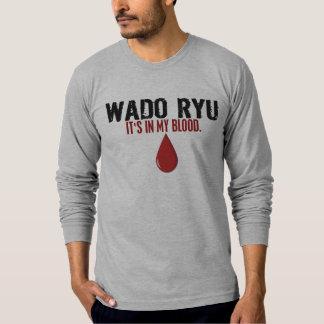 In My Blood WADO RYU Tshirts