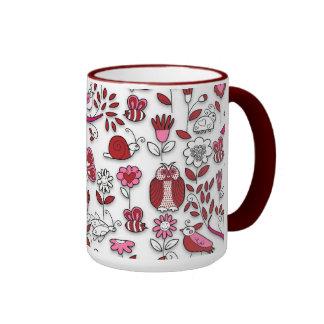In My Garden Ringer Mug