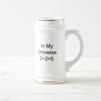 In My Universe 2+2=5 Beer Steins