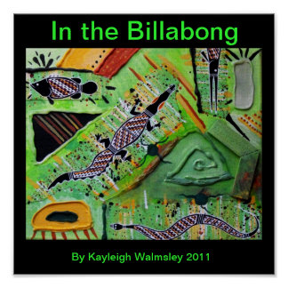 In the Billabong Poster