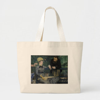 In the Conservatory - Édouard Manet (1879) Jumbo Tote Bag