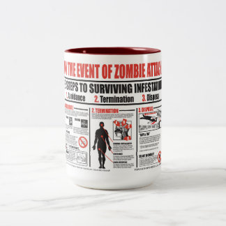 In The Event of Zombie Attack COFFEE MUG