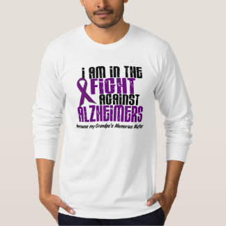 In The Fight Against Alzheimer's Disease GRANDPA Tee Shirts