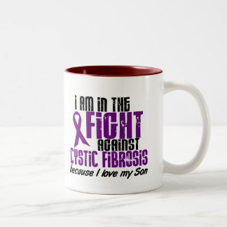 In The Fight Against Cystic Fibrosis SON Two-Tone Mug