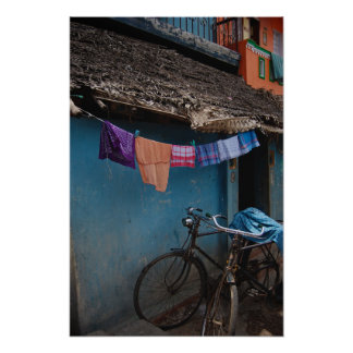 Indian Alley-way Poster