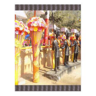 Indian art n crafts show surajkund mela newdelhi postcard