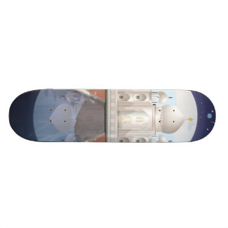 Indian world icon logo travel poster skate board