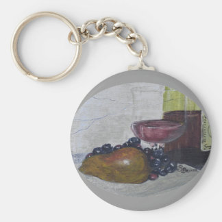 Indulgence Basic Round Button Key Ring