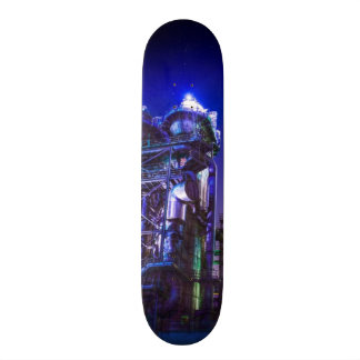Industrial HDR photography - Steel Plant 2 Skate Board Deck
