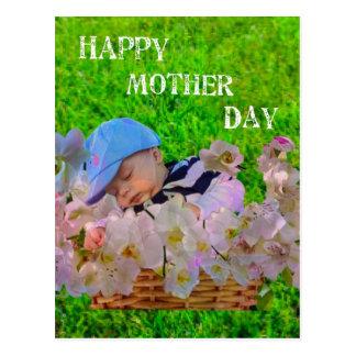 Infant celebrates Mother's day Postcard