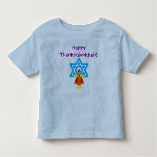 Infants Thanksgivukkah Funny Turkeys Tshirt