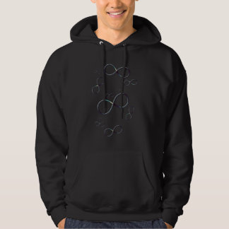 Infinity Symbols   Geek Gifts Hooded Pullovers