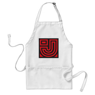 Initial for names starting with J Standard Apron