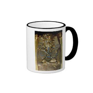 Innermost coffin of Tutankhamun Ringer Mug
