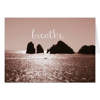 Inspiration. Greeting Card