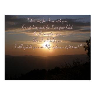 Inspirational Postcard - Isaiah 41;10
