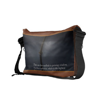 Inspirational - Reflection - Confucius Commuter Bags