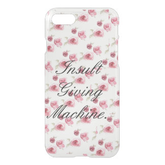 Insult Giving Machine iPhone 7 Case