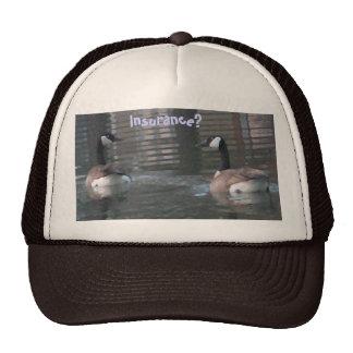 Insurance? Funny Duck hat