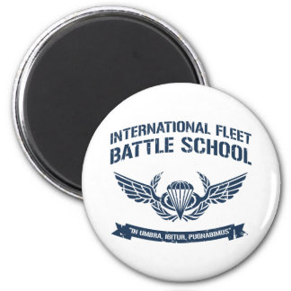 International Fleet Battle School Ender 6 Cm Round Magnet