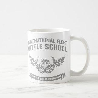 International Fleet Battle School Ender Basic White Mug