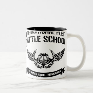 International Fleet Battle School Ender Two-Tone Mug