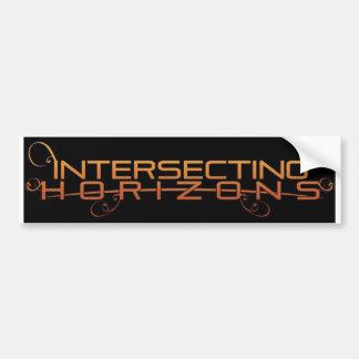 Intersecting Horizons Bumper Sticker