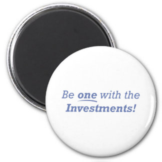 Investments / One 6 Cm Round Magnet