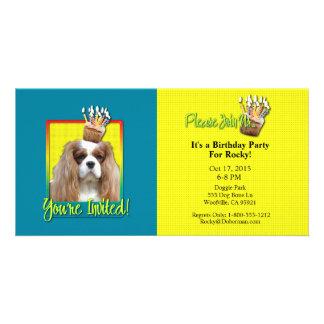 Invitation Cupcake - Cavalier - Blenheim Photo Cards