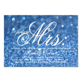 Invite - Blue Lit Bridal Shower future Mrs.