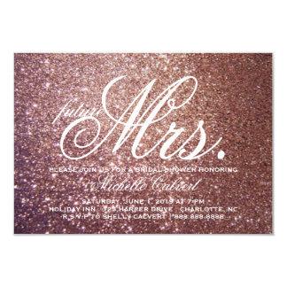 Invite - Rose Glitter Bridal Shower future Mrs.