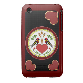 iPhone 3 Case - Long, Happy Relationship Hex v2