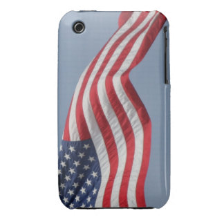 iPhone 3G/3GS Waving American Flag Barely There iPhone 3 Cover