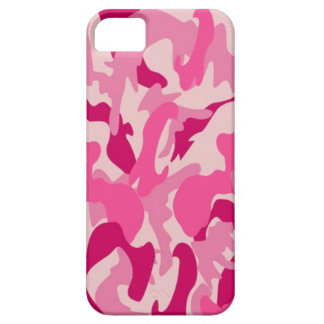 iPhone 5 of cover covering sleeve pink camo
