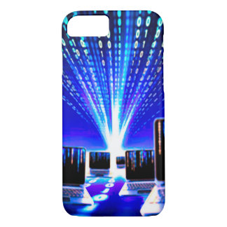 iPhone 7, Barely There Computer Anime Highway iPhone 7 Case